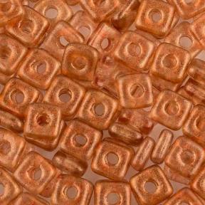 Quad Bead 4 мм Crystal GT Tangerine