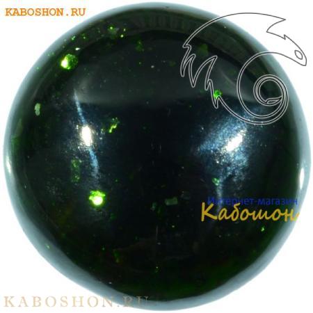 Авантюрин зелёный (искусственный) кабошон