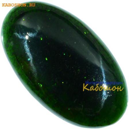 Авантюрин зелёный (искусственный)