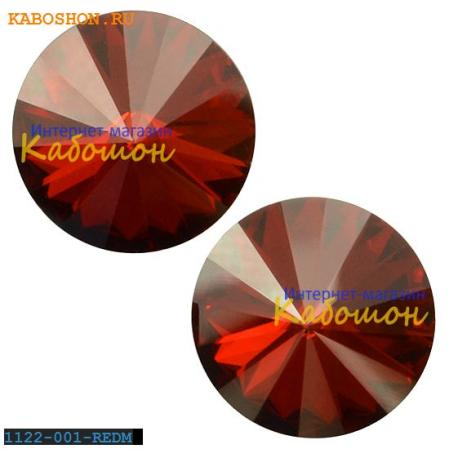 Swarovski Rivoli ss 47 (10,5 мм) Crystal Red Magma