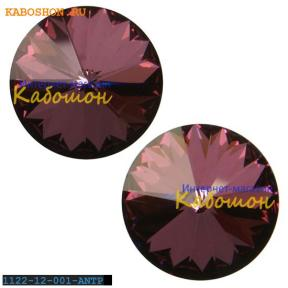 Swarovski Rivoli ss 47 (10,5 мм) Crystal Antique Pink