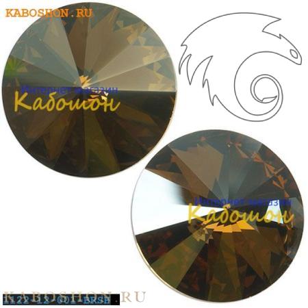 Swarovski Rivoli ss 47 (10,5 мм) Crystal Bronze Shade 1122-10-001-BRSH