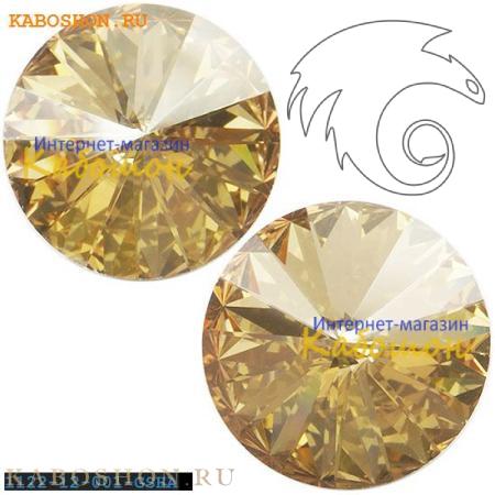 Swarovski Rivoli ss 47 (10,5 мм) Crystal Golden Shadow 1122-10-001-GSHA