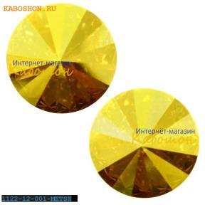 Swarovski Rivoli ss 47 (10,5 мм) Crystal Metallic Sunshine