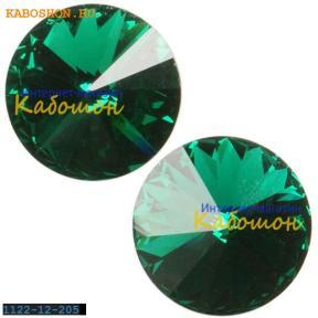 Swarovski Rivoli ss 47 (10,5 мм) Emerald