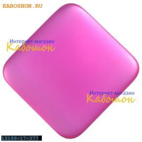 Lunasoft квадратный 17 мм Raspberry (уценка)