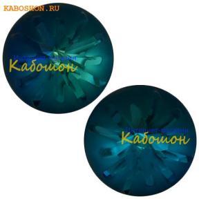 Swarovski Sea Urchin round stone 10 мм Crystal Bermuda Blue PF