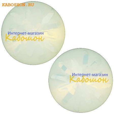 Swarovski Sea Urchin round stone 10 мм White Opal PF