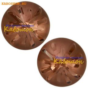 Swarovski Sea Urchin round stone 10 мм Blush Rose PF