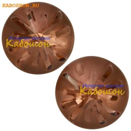 Кристалл Swarovski (Сваровски) Sea Urchin round stone 10 мм Blush Rose PF