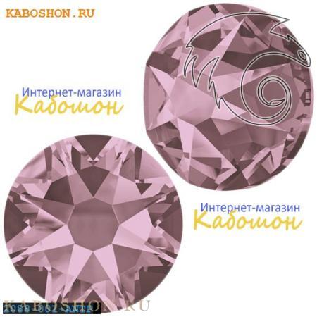 Кристалл Swarovski (Сваровски) Xirius Rose (no HF) ss 30 Crystal Antique Pink