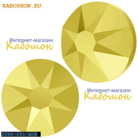 Swarovski Xirius Rose (no HF) ss 30 Crystal Aurum