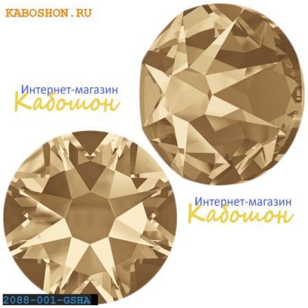 Swarovski Xirius Rose (no HF) ss30 Crystal Golden Shadow