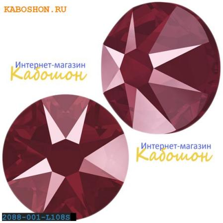 Swarovski Xirius Rose (no HF) ss 30 Crystal Dark Red