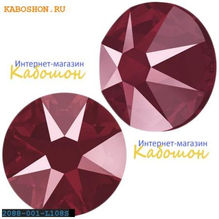 Кристалл Swarovski (Сваровски) Xirius Rose (no HF) ss 30 Crystal Dark Red