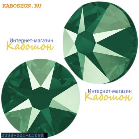 Кристалл Swarovski (Сваровски) Xirius Rose (no HF) ss 30 Crystal Royal Green