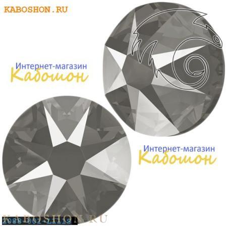 Кристалл Swarovski (Сваровски) Xirius Rose (no HF) ss 30 Crystal Dark Grey