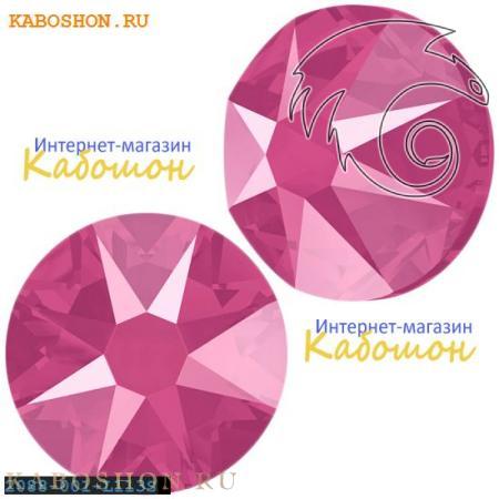 Кристалл Swarovski (Сваровски) Xirius Rose (no HF) ss 30 Crystal Peony Pink