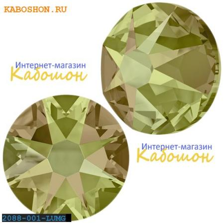 Кристалл Swarovski (Сваровски) Xirius Rose (no HF) ss 30 Crystal Luminous Green