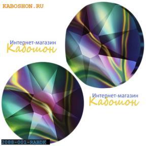 Swarovski Xirius Rose (no HF) ss34 Crystal Rainbow Dark
