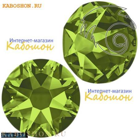 Кристалл Swarovski (Сваровски) Xirius Rose (no HF) ss 34 Olivine