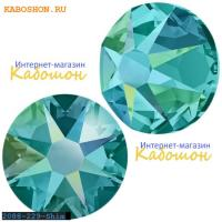 Swarovski Xirius Rose (no HF) ss30 Blue Zircon Shimmer