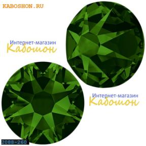 Swarovski Xirius Rose (no HF) ss 30 Dark Moss Green