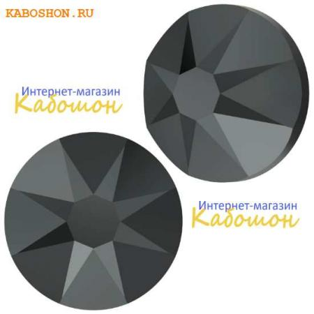 Кристалл Swarovski (Сваровски) Xirius Rose (no HF) ss34 Jet Hematite
