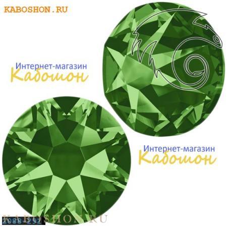 Кристалл Swarovski (Сваровски) Xirius Rose (no HF) ss34 Fern Green