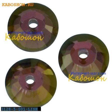 Swarovski Xilion Lochrose 5 мм Crystal Lilac Shadow