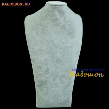 """Манекен """"шея"""" серый 35х20 см"""