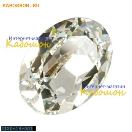 Swarovski Oval Fancy stone 14x10 мм Crystal