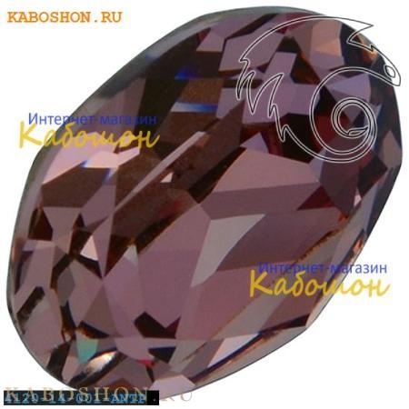 Кристалл Swarovski (Сваровски) Oval Fancy stone 14x10 мм Crystal Antique Pink