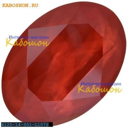 Swarovski Oval Fancy stone 14х10 мм Crystal Royal Red