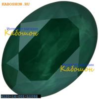 Swarovski Oval Fancy stone 14х10 мм Crystal Royal Green