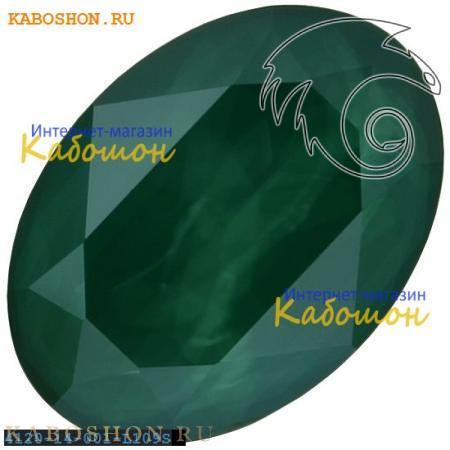 Кристалл Swarovski (Сваровски) Oval Fancy stone 14х10 мм Crystal Royal Green