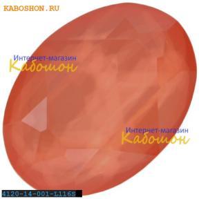 Swarovski Oval Fancy stone 14х10 мм Crystal Lt. Coral