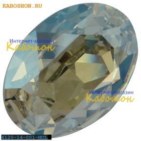 Swarovski Oval Fancy stone 14x10 мм Crystal Moonlight