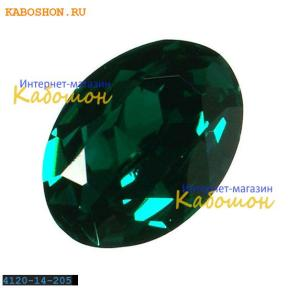 Swarovski Oval Fancy stone 14x10 мм Emerald