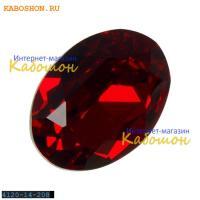Swarovski Oval Fancy stone 14x10 мм Siam