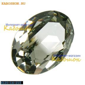 Swarovski Oval Fancy stone 14x10 мм Black Diamond