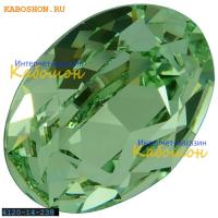 Swarovski Oval Fancy stone 14x10 мм Chrysolite