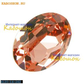 Swarovski Oval Fancy stone 14x10 мм Rose Peach