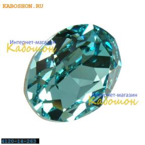 Swarovski Oval Fancy stone 14x10 мм Lt.Turquoise