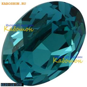 Swarovski Oval Fancy stone 14x10 мм Indicolite