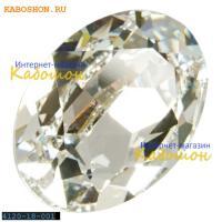 Swarovski Oval Fancy stone 18x13 мм Crystal