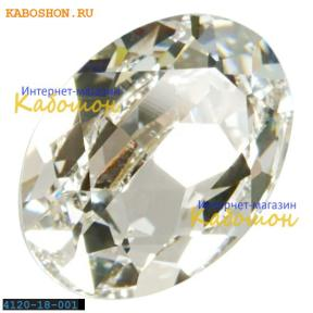 Swarovski Oval Fancy stone 18x13 мм Crystal