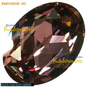 Swarovski Oval Fancy stone 18х13 мм Crystal Antique Pink