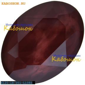 Swarovski Oval Fancy stone 18х13 мм Crystal Dark Red