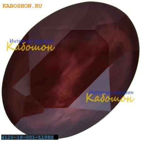 Swarovski Oval Fancy stone 14х10 мм Crystal Dark Red